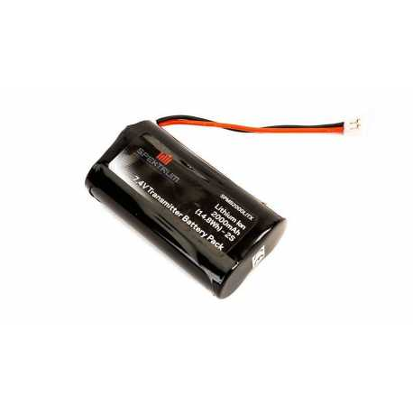 2000mAh Transmitter Battery: DX8, DX9 by Spektrum