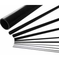 Tubo de carbono 2/1x1000mm