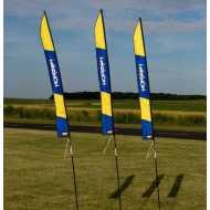 Banderas Marcadoras 1m 4 Unidades
