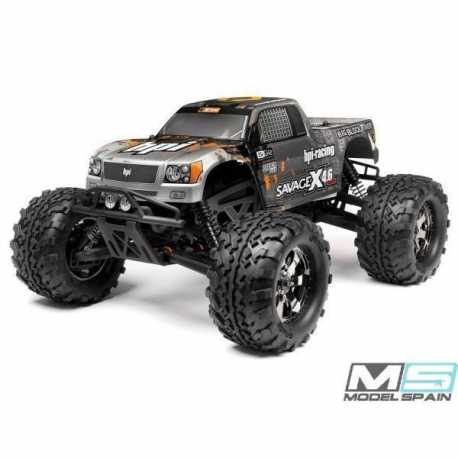 HPI Savage X v4.6 Monster 1:8 RTR Nitro