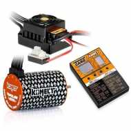 COMBO MOTOR 1/10 BRUSHLESS KONECT 3652 4600Kv + VAR. 50A + program