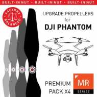 Helice Multirrotor 9,4x5 Prop C Set x4 Negra DJI Phantom Built-in Nut