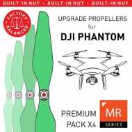 Helice Multirrotor 9,4x5 Prop C Set x4 Verde DJI Phantom Built-in Nut