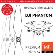 Helice Multirrotor 9,4x5 Prop C Set x4 Blanca DJI Phantom Built-in Nut