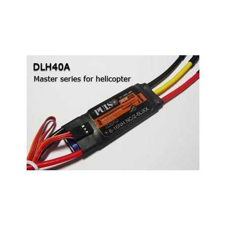 Variador 40A Pulso DLH opto heli