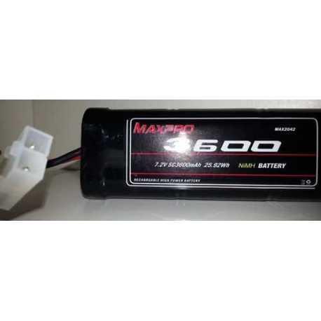 Maxpro Ni-MH SC 7,2V 3600mAh