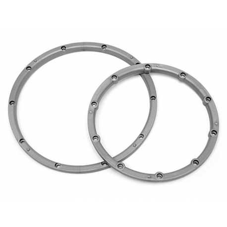 WHEEL BEAD LOCK RINGS (SILVER/For 2 Wheels)