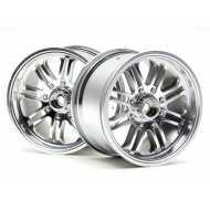 Llanta 8 Spoke Wheel Satin Chrome