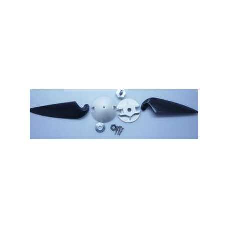 Hélice plegable 6x3 con cono