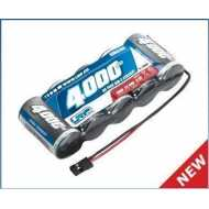 Batería 6,0V-4000mAh NiMH XTEC 1/5 RX SubC - JR - racta