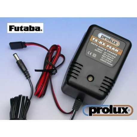 CARGADOR PROLUX RX-TX PEAK AC 230 V.