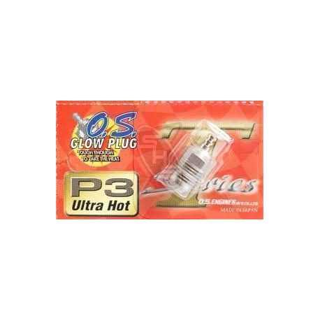 Bujia O.S P3 Ultra Hot