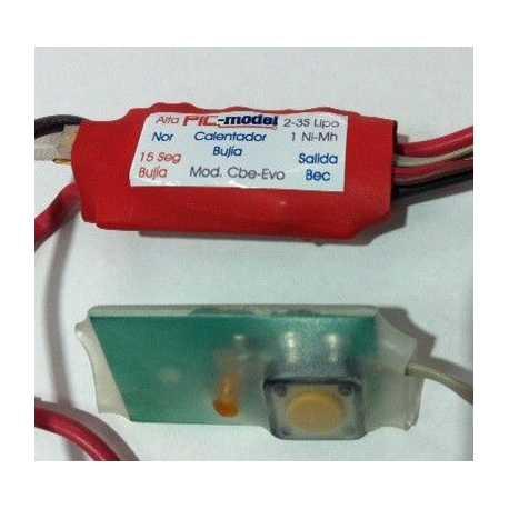 Calentador de Bujia con Interruptor