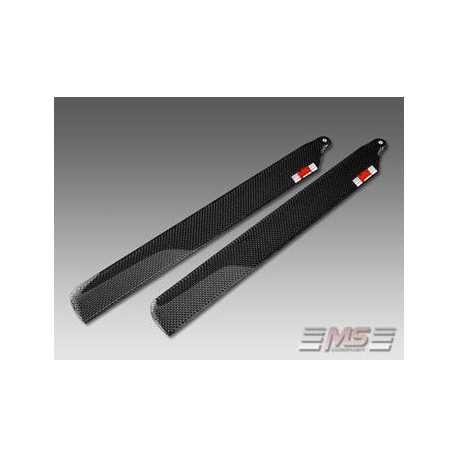 Palas MS de rotor principal CFC 38,5 cm/6/3