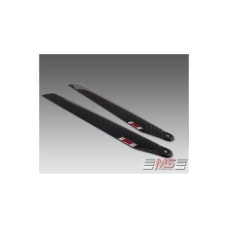 Palas MS de rotor principal CFC 51,5 cm/12/3