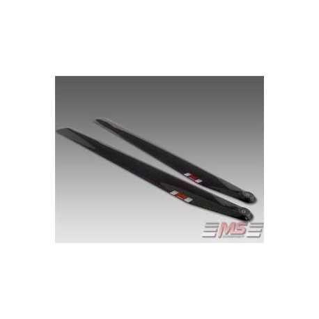 Palas MS de rotor principal CFC 68 cm 3D/12/4+5
