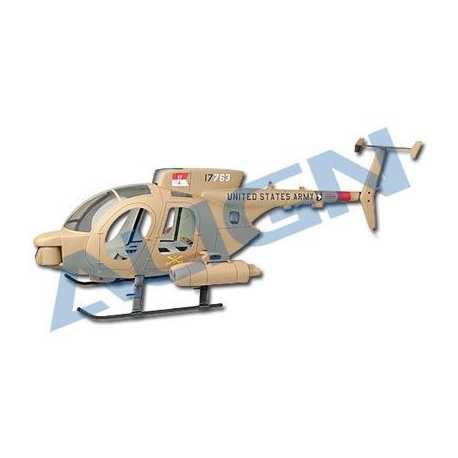 600 Scale Fuselaje 500MD