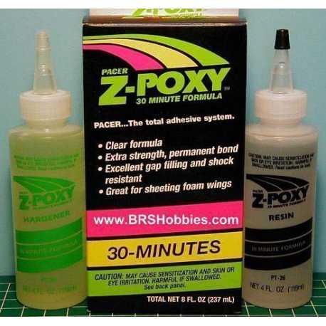 Epoxy Pacer Z-poxy 30 minutos 237ml.