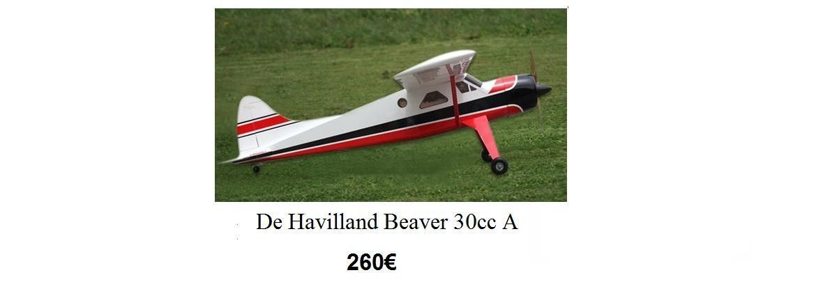 De Havilland Beaver 30cc A
