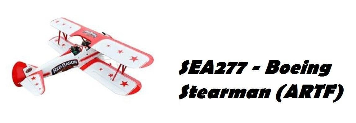 Boeing Stearman 20CC ARTF